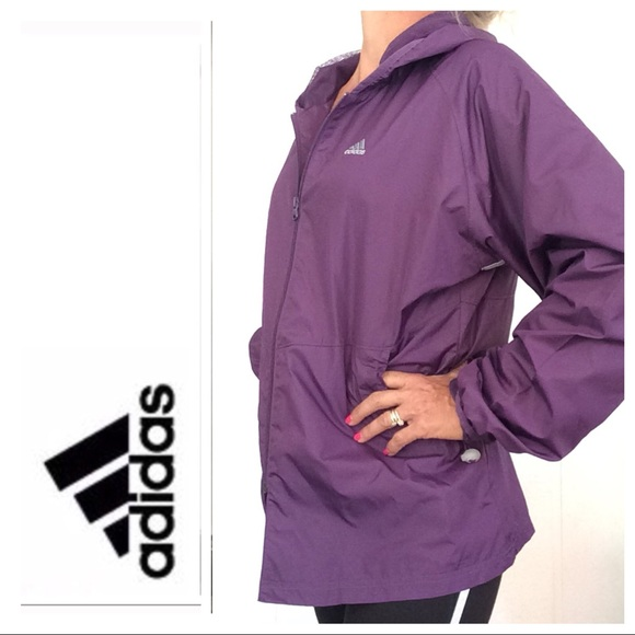 d78569589d9 adidas Jackets   Blazers - ADIDAS CLASIC THREE STRIPE WINDBREAKER LARGE
